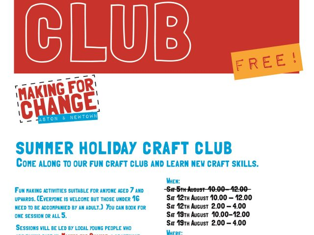 holidayclub-poster - new dates